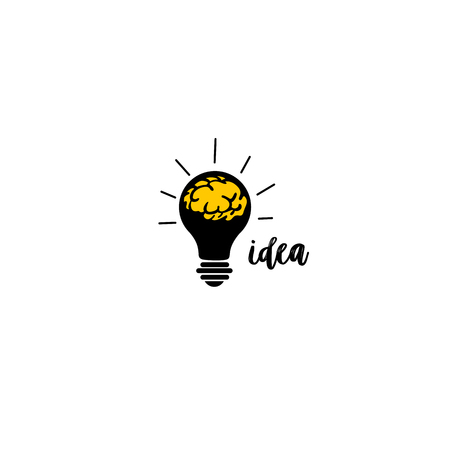 Idea concept vector illustration design.
