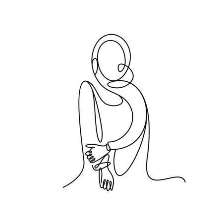 Stylish original hand-drawn graphic vector illustration