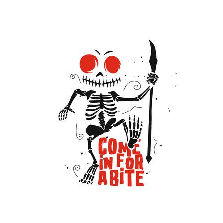dancing devil cartoon vector illustration design. Иллюстрация