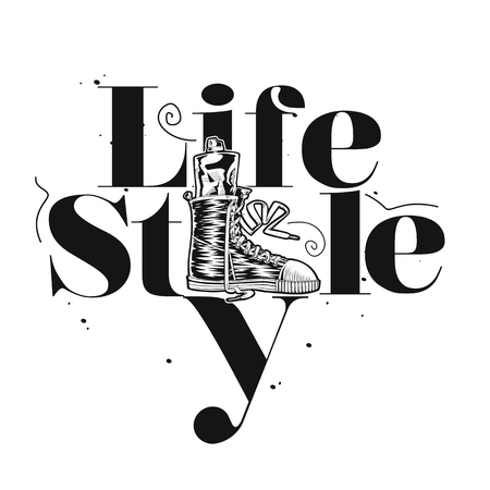Life style vector illustration design. Фото со стока - 95986019