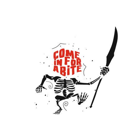Ghost character set for halloween red devil vector illustration