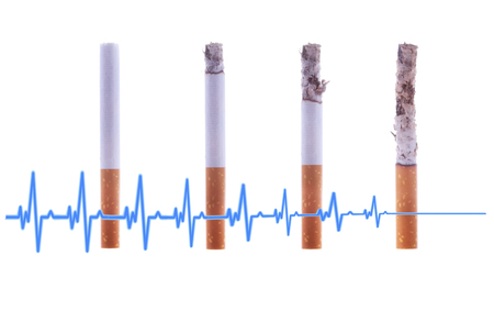 Smoking is deadly to health. Kill yourself or quit smoking concept. World No Tobacco Day. Stok Fotoğraf