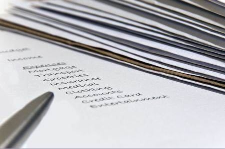 budgeting: Home budgeting and bills