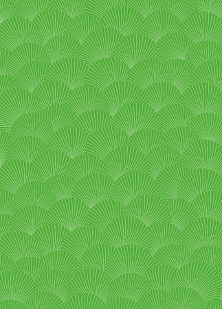 bicolor: Palm leaves seamless pattern. Vector illustration.