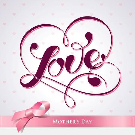 carta de amor: Letras AMOR. Para temas como la Madre