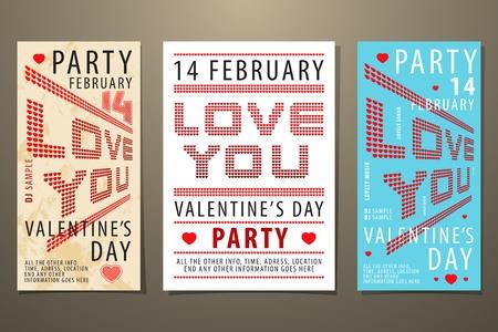 Set of Valentine Stock Vector - 12377696