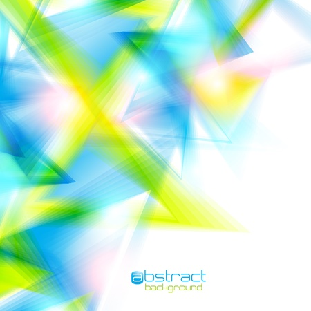 Abstract background with triangles. Vector illustration. Vector