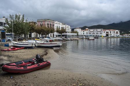 selva: Boats in the Port de la Selva