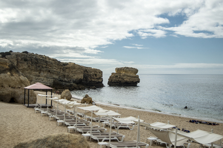 algarve: Sao Rafael beach in the Algarve Stock Photo