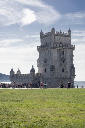 belem: Belem tower in Lisboa