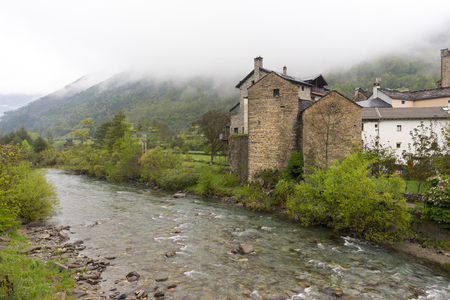 Around the village of Broto in Huesca