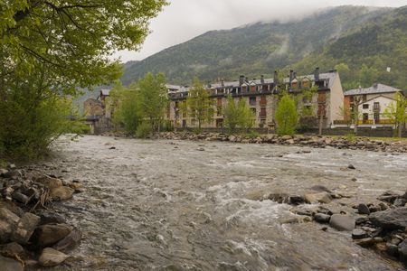 Around the village of Broto in Huesca