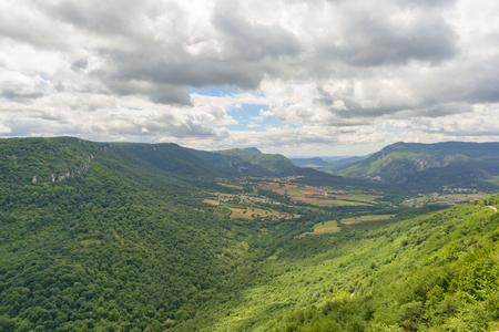 Natural park of Urbasa and andia in Navarra
