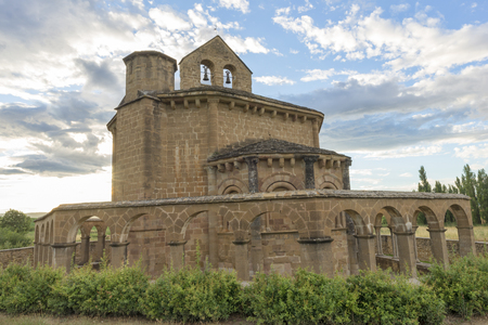 Hermitage of Santa Maria de Eunate in Navarre