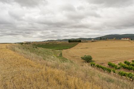 The village of Cirauqui in Navarre, Spain Reklamní fotografie