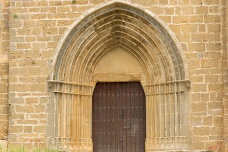 The town of Gallipienzo de Navarra in Spain