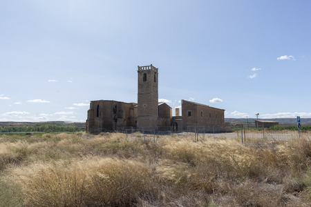 Hermitage in the interior of the province of Lleida in Catalonia