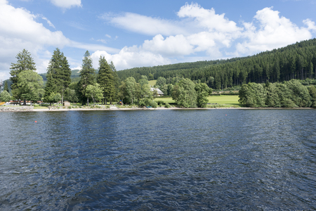 On Lake Titisee in the Black Forest, Germany Stock Photo