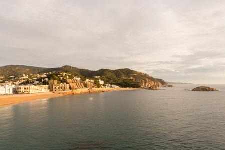 The village of Tossa de Mar on the Costa Brava, Girona