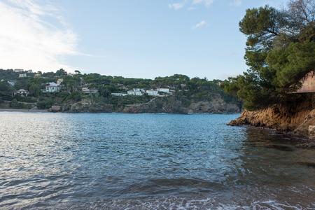 The cove of Aiguafreda on the Costa Brava, Girona, Spain Stock Photo