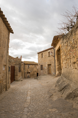 The town of Peratallada in the province of Girona, Catalonia