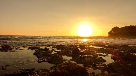 Sunset on the Costa Azahar next to Oropesa del Mar, Spain