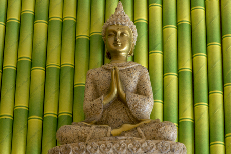 The figure of a Buddha in a meditative position, Spain