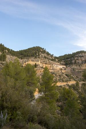 The sanctuary of Mare de Deu de Balma in Zorita, Spain