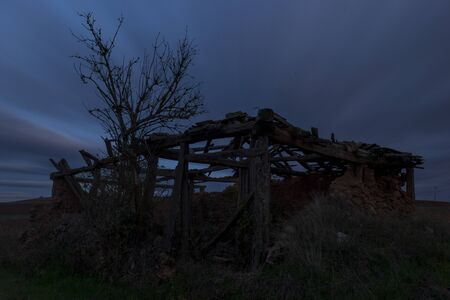 The abandoned town of Escobosa de Calatanazor, Spain