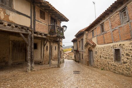 The medieval village of Calatanazor in Soria, Spain