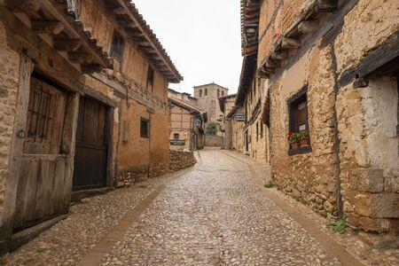 The medieval village of Calatanazor in Soria, Spain