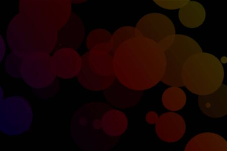 An abstract black background with red circles, graphic resource Stock fotó