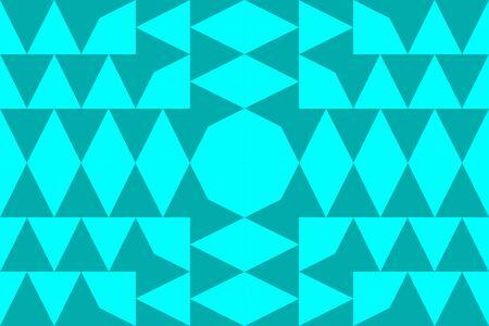Un fondo abstracto con diferentes triángulos en el interior, recurso gráfico