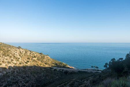 The green way of Benicassim and oropesa del mar, Costa azahar, Spain