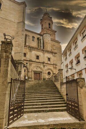 The town of Estella in Navarre, Spain