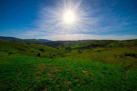 Valdelinares mountains in summer a sunny day, Spain Reklamní fotografie - 151304937