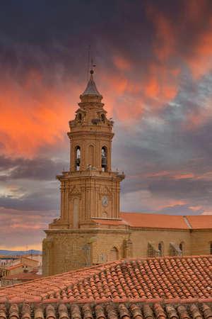 The town of Lerin in Navarra, Spain Reklamní fotografie - 151304939