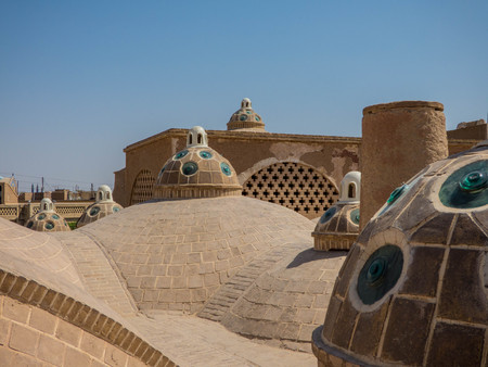Typische toeristische plaats in Iran