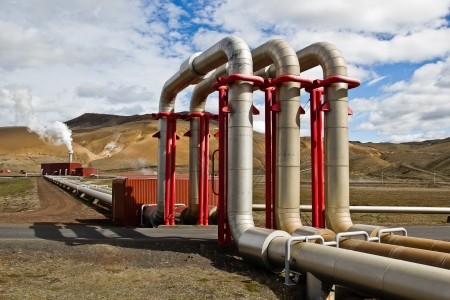 Iceland�s Geothermal Powerplant photo
