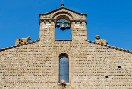 Viterbo -Italy -church of San Silvestro facade