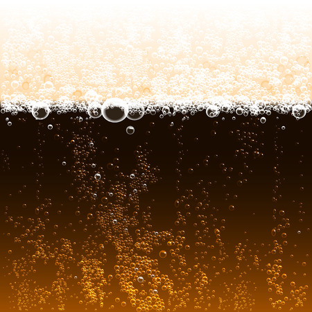 background dark beer with foam and bubbles
