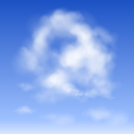 isolated cloud in the sky