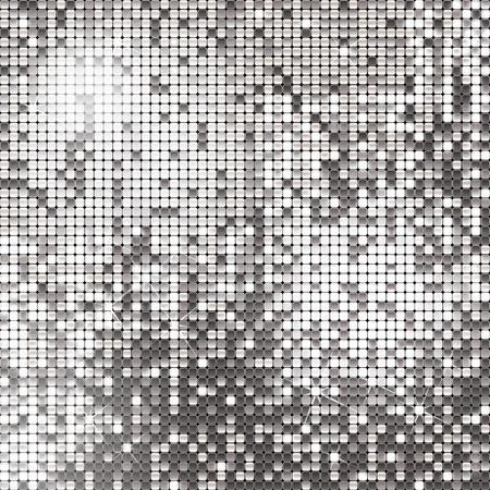 Zilveren achtergrond van sprankelende pailletten