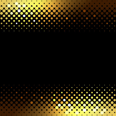 banner abstract gold background. Halftone