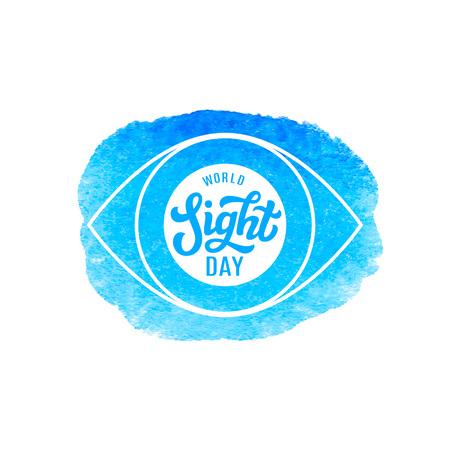 Wereldkijkdag Vector Illustratie