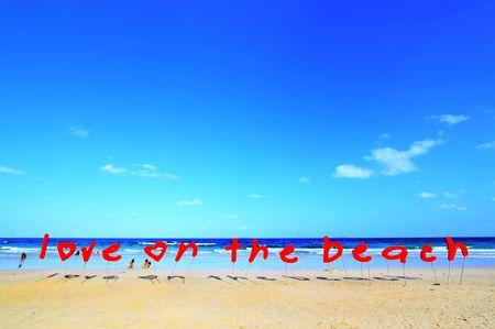 wonderful thailand: Love on the beach