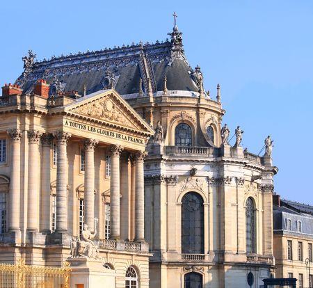 crick: Reggia di Versailles Archivio Fotografico