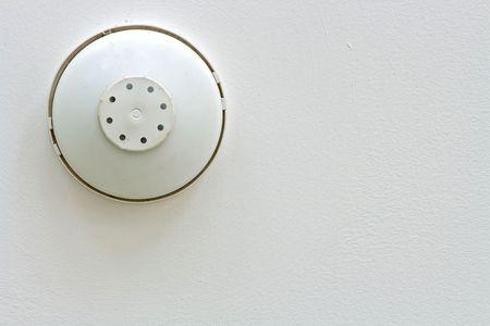 uaktywnić: Dymu i ciepÅ'a detektora alarmu wyizolowanych puÅ'ap biaÅ'y
