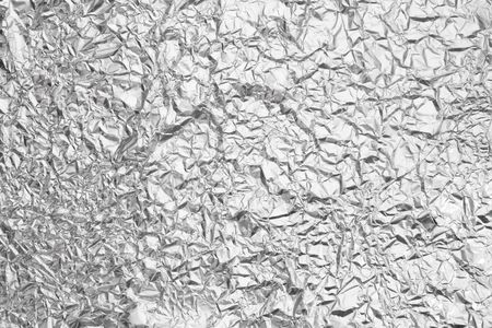 Pattern of Wrinkled Aluminium Foil Paper using as background Stock Photo - 7669846