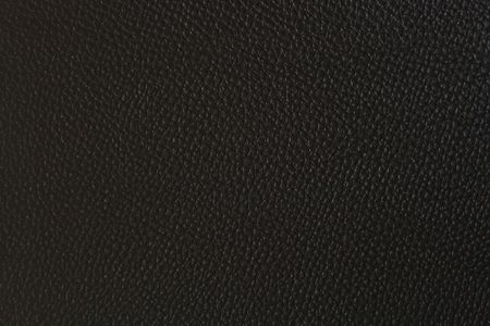 leatherette: Patternof Black Fake Leather Textured Stock Photo